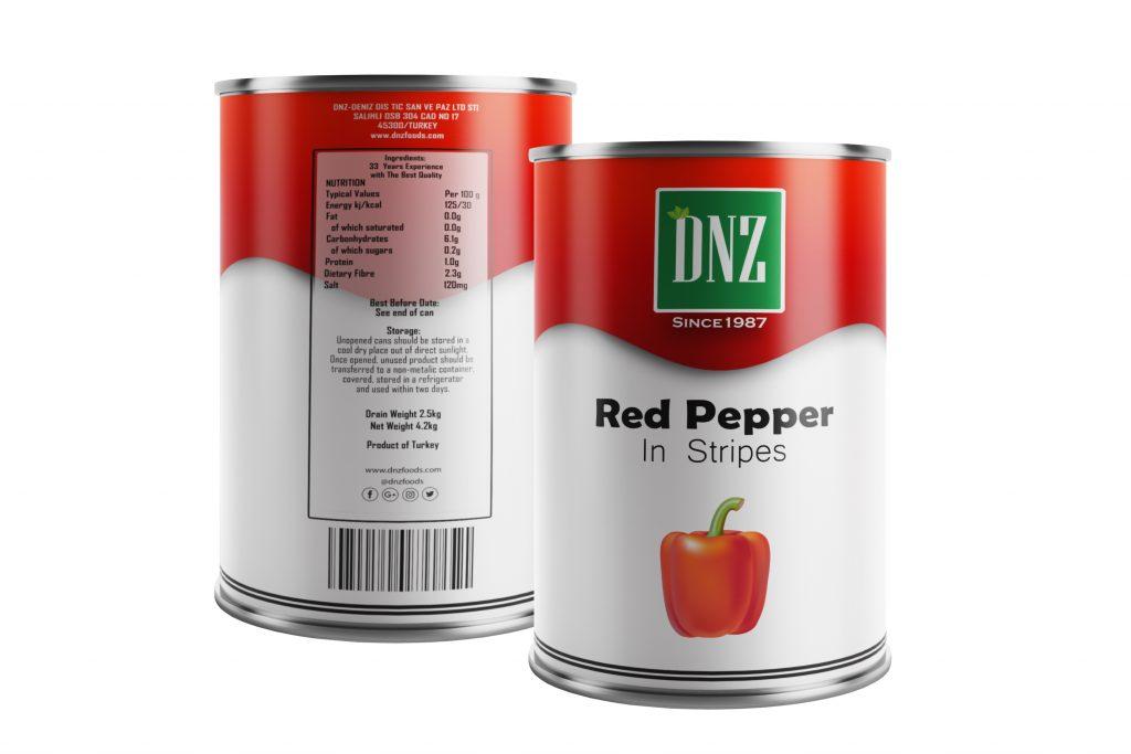 DNZ-Red Pepper Stripes-ÖN ARKA