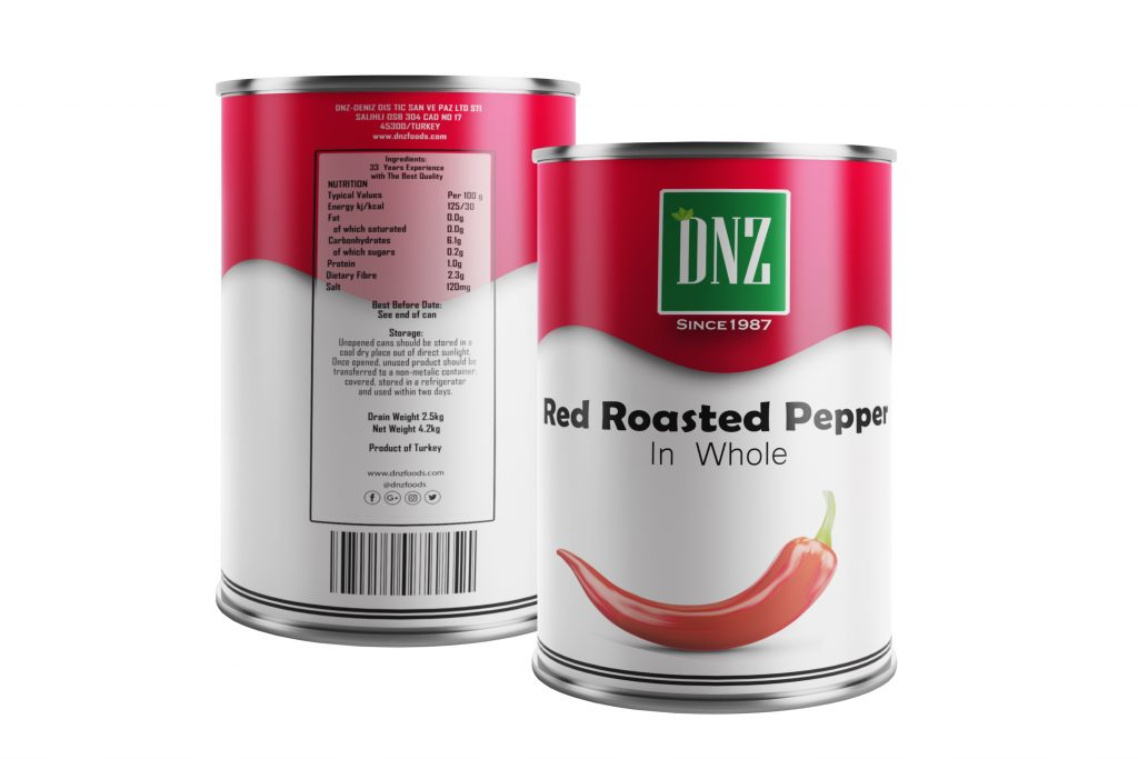 DNZ-Red Roasted Pepper-ÖN ARKA