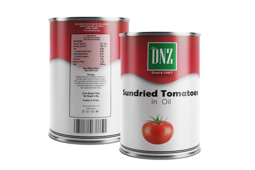 DNZ-Sundried Tomatoes-ÖN ARKA